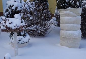 Schafwolle Winterschutzmatte 30x200cm Bild 1