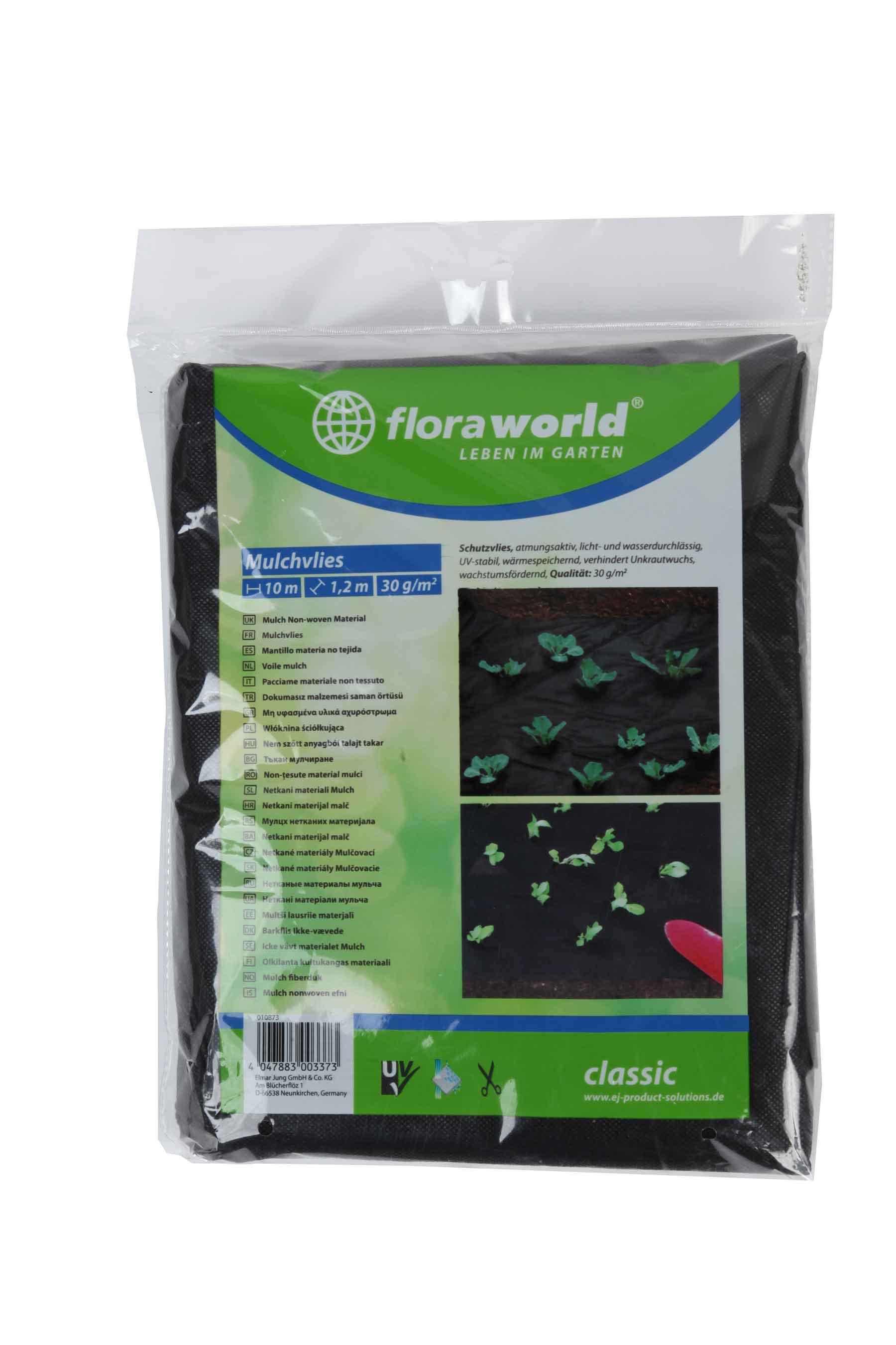 Schutzvlies / Trennvlies floraworld 1,5x5m Bild 1