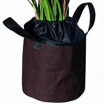 winterschutz f r pflanzen frostschutzsack braun 40x35cm bei. Black Bedroom Furniture Sets. Home Design Ideas