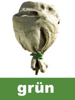 Winterschutz für Pflanzen / Jutesack grün 100x110cm Bild 1