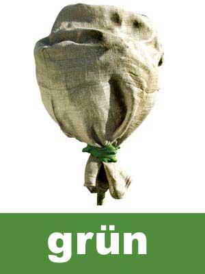 Winterschutz für Pflanzen / Jutesack grün 60x110cm Bild 1