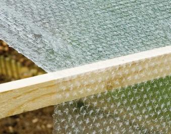 Winterschutz für Pflanzen / Luftpolster-Isolierfolie 3x1m Bild 1