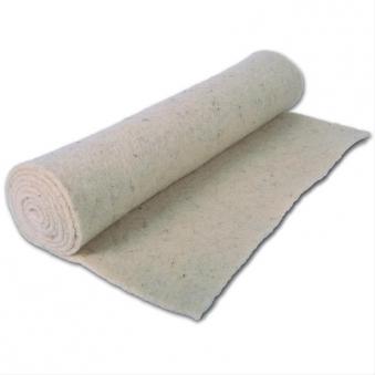 Winterschutzmatte Schafwolle Noor 50x150cm naturweiß Bild 1