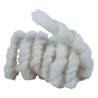 Wollkordel aus Schafwolle Noor 3m Ø1cm naturweiß Bild 1