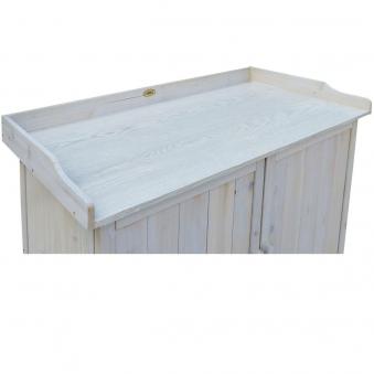 Pflanztisch / Gartentisch Habau mit Unterschrank Lino 98x48x95cm Bild 4