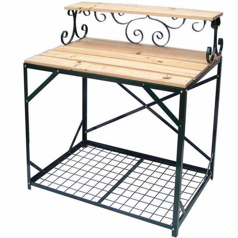 pflanztisch aus holz bei. Black Bedroom Furniture Sets. Home Design Ideas