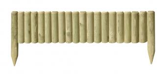 beetabgrenzung halbpalisaden kdi 5x20 35x100 cm bei. Black Bedroom Furniture Sets. Home Design Ideas