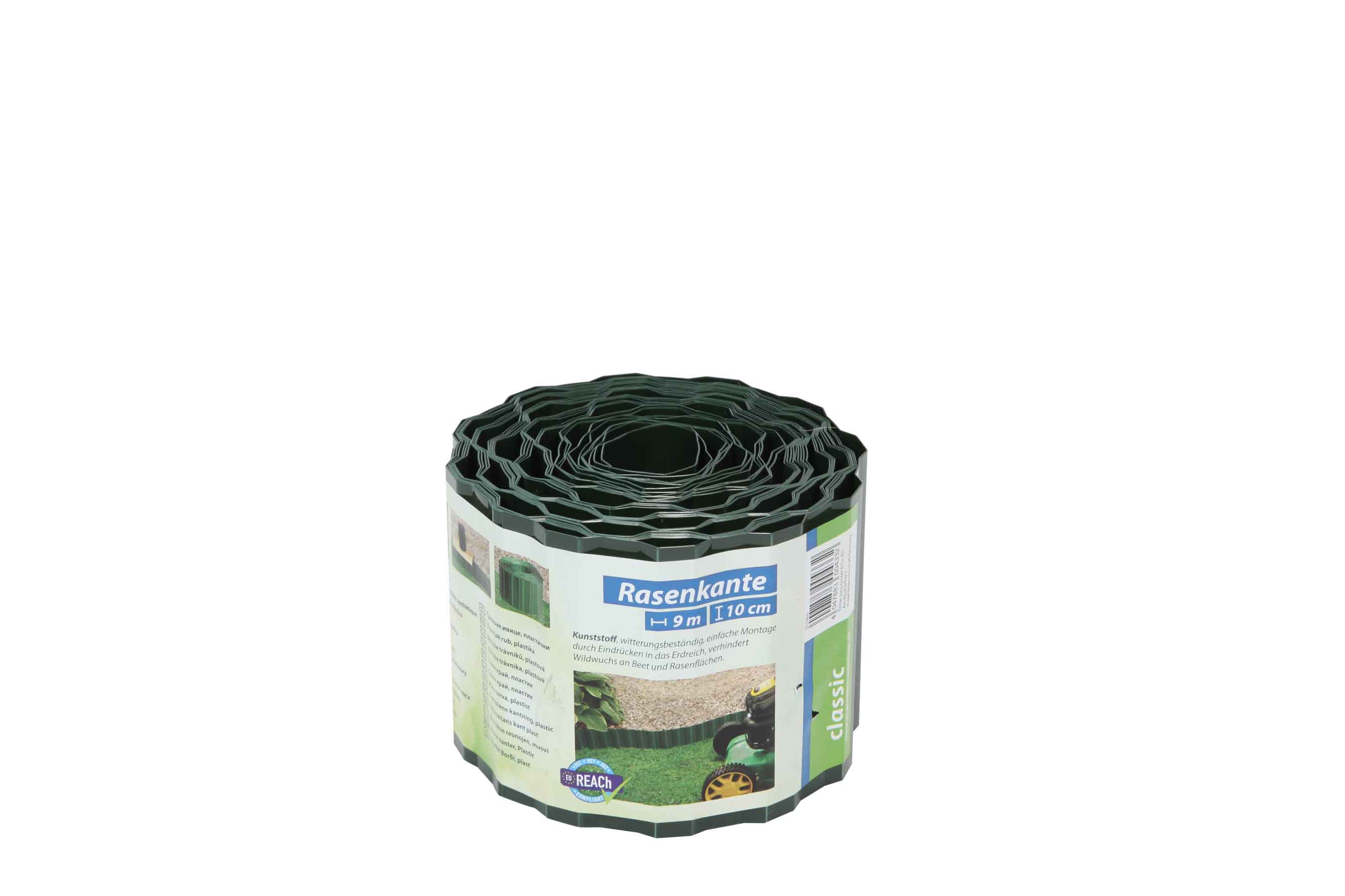 Rasenkante Kunststoff Classic floraworld 9mx10cm grün Bild 1