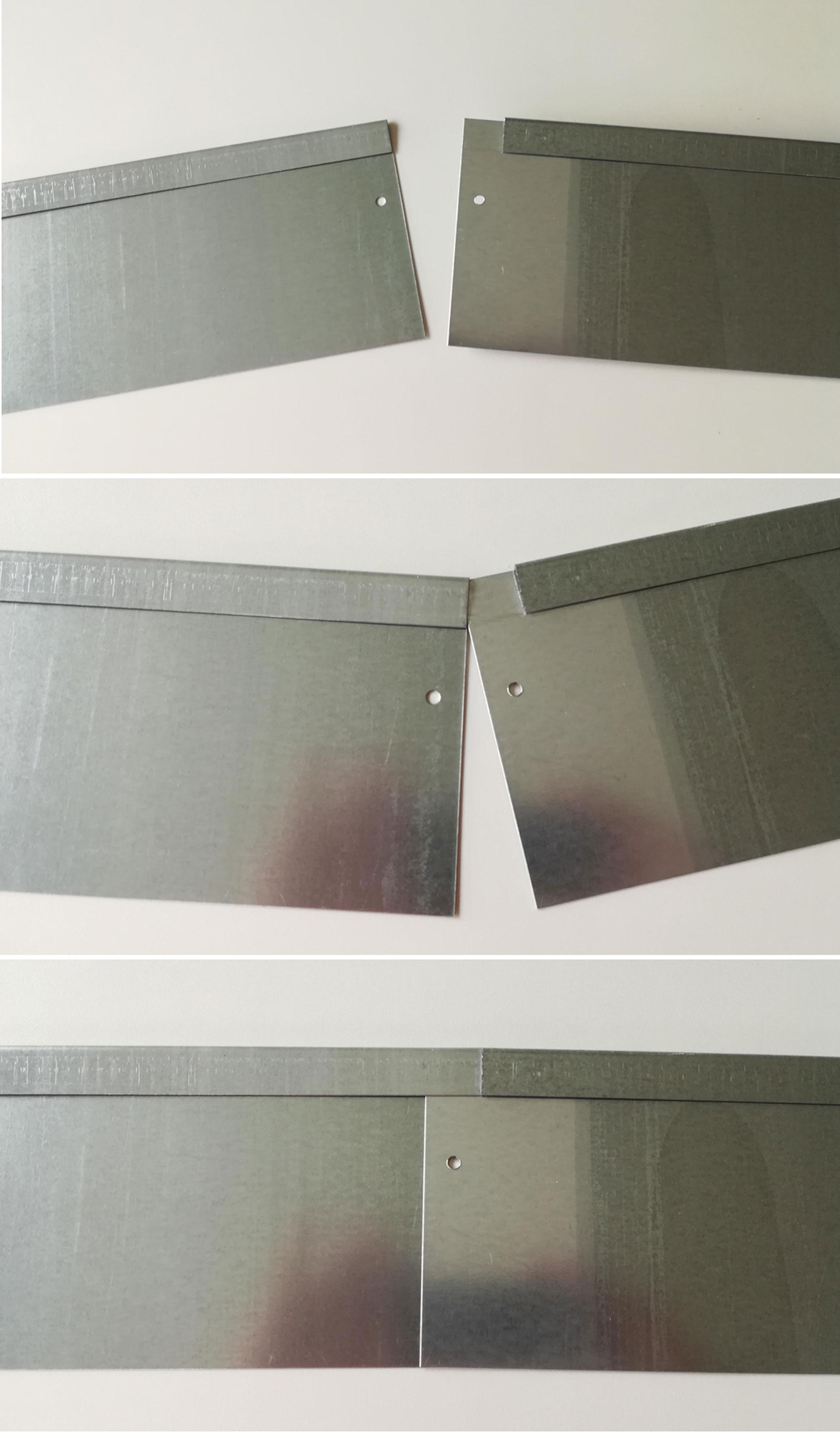 Rasenkante Metall 100x13cm Bild 4