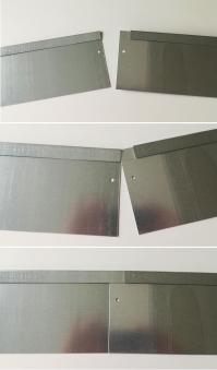 Rasenkante Metall 100x20cm Bild 4