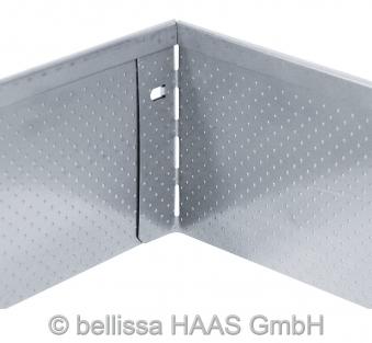 Rasenkante Metall verzinkt Noppenstruktur bellissa L118xH13cm Bild 2