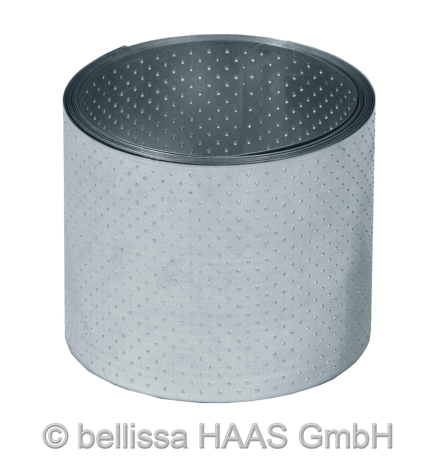 rasenkante metall verzinkt noppenstruktur bellissa l500xh14cm bei. Black Bedroom Furniture Sets. Home Design Ideas