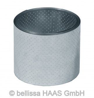 Rasenkante Metall verzinkt Noppenstruktur bellissa L500xH14cm Bild 1