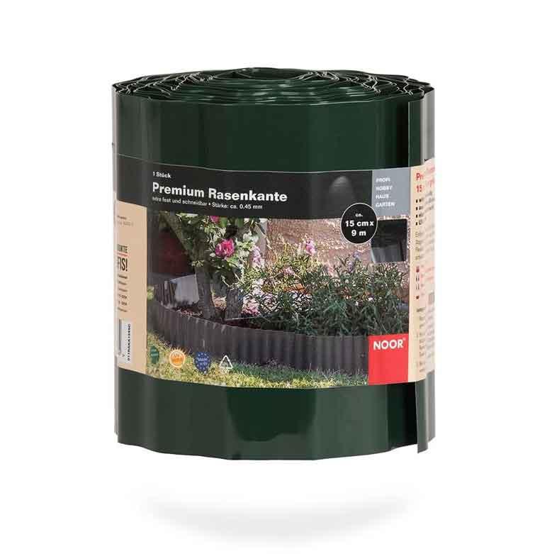 Rasenkante / Raseneinfassung Premium Noor 15cmx9m grün Bild 1
