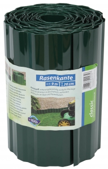 Rasenkante / Raseneinfassung classic floraworld 9x0,20m grün Bild 1