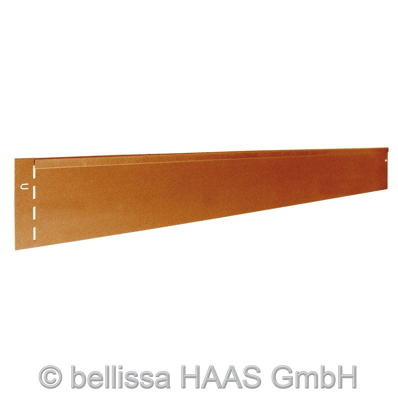 Rasenkante corten Stahl bellissa 118x13cm Bild 1