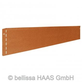 Rasenkante corten Stahl bellissa 118x20cm Bild 1
