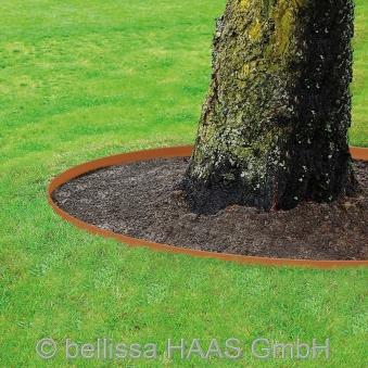 Rasenkante corten Stahl bellissa 118x20cm Bild 3