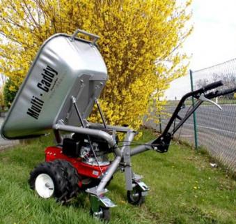 Powerpac Motorschubkarre / Mini-Caddy / Multi-Dumper MC140 110 Liter