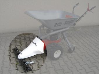 Powerpac Mähbalken 85 cm als Grasmäher für MC140 und MK85 Bild 1