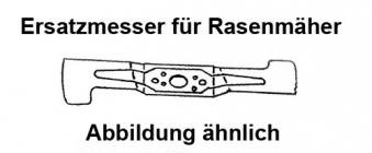 Ersatzmesser WBL 4603 für Wolf Garten Benzinrasenmäher 46cm Bild 1