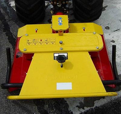 Powerpac Sichelmäher und Mulchmäher Einachser MAK17 72cm Bild 1