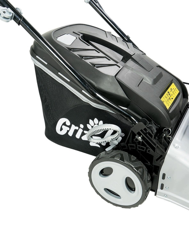 Benzin Rasenmäher Grizzly BRM 42-141 OHV Q-360° 2,0kW SB42cm Bild 3