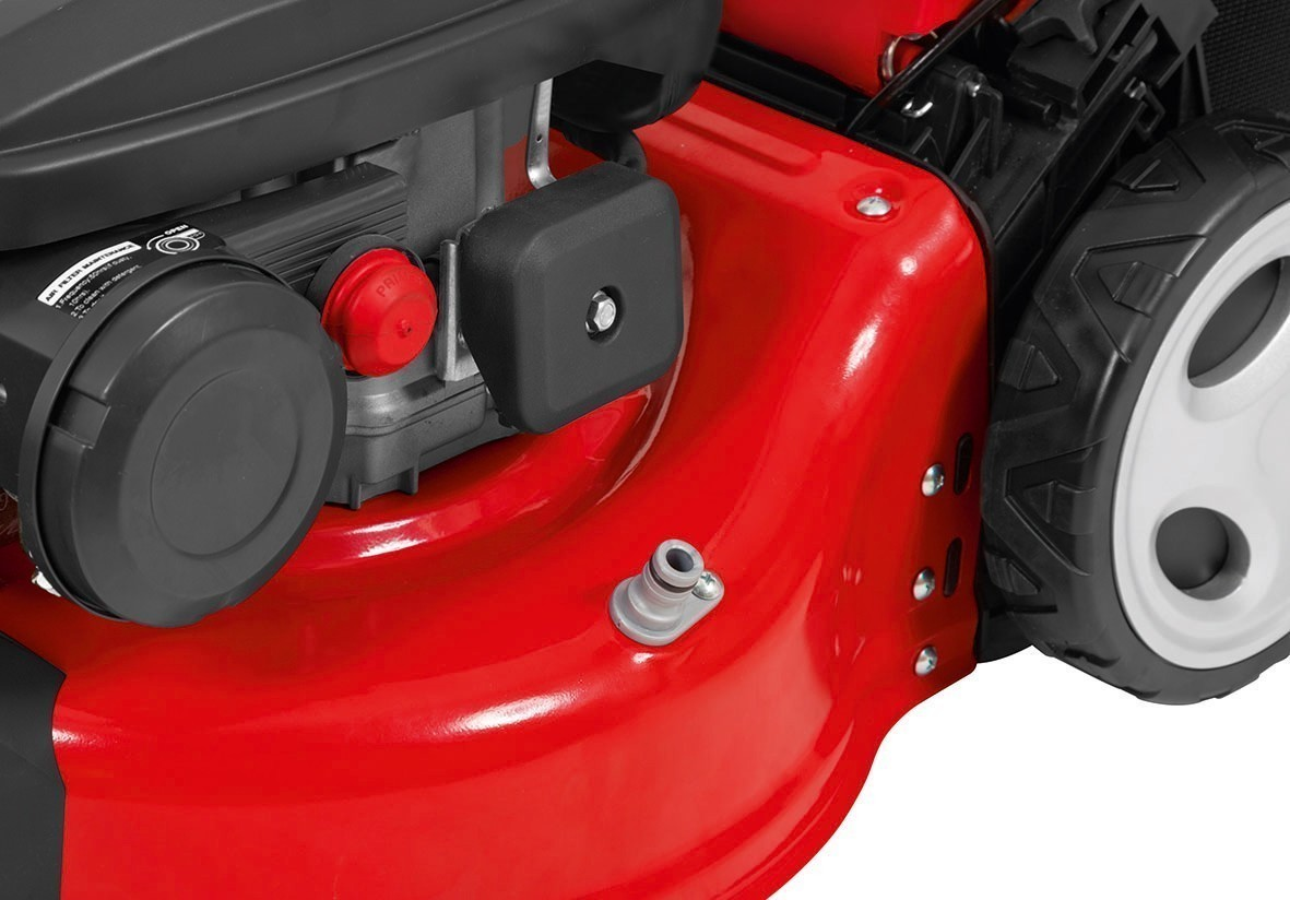 Benzin Rasenmäher Grizzly BRM 42-141 OHV Trike 2kW SB 42cm Bild 6