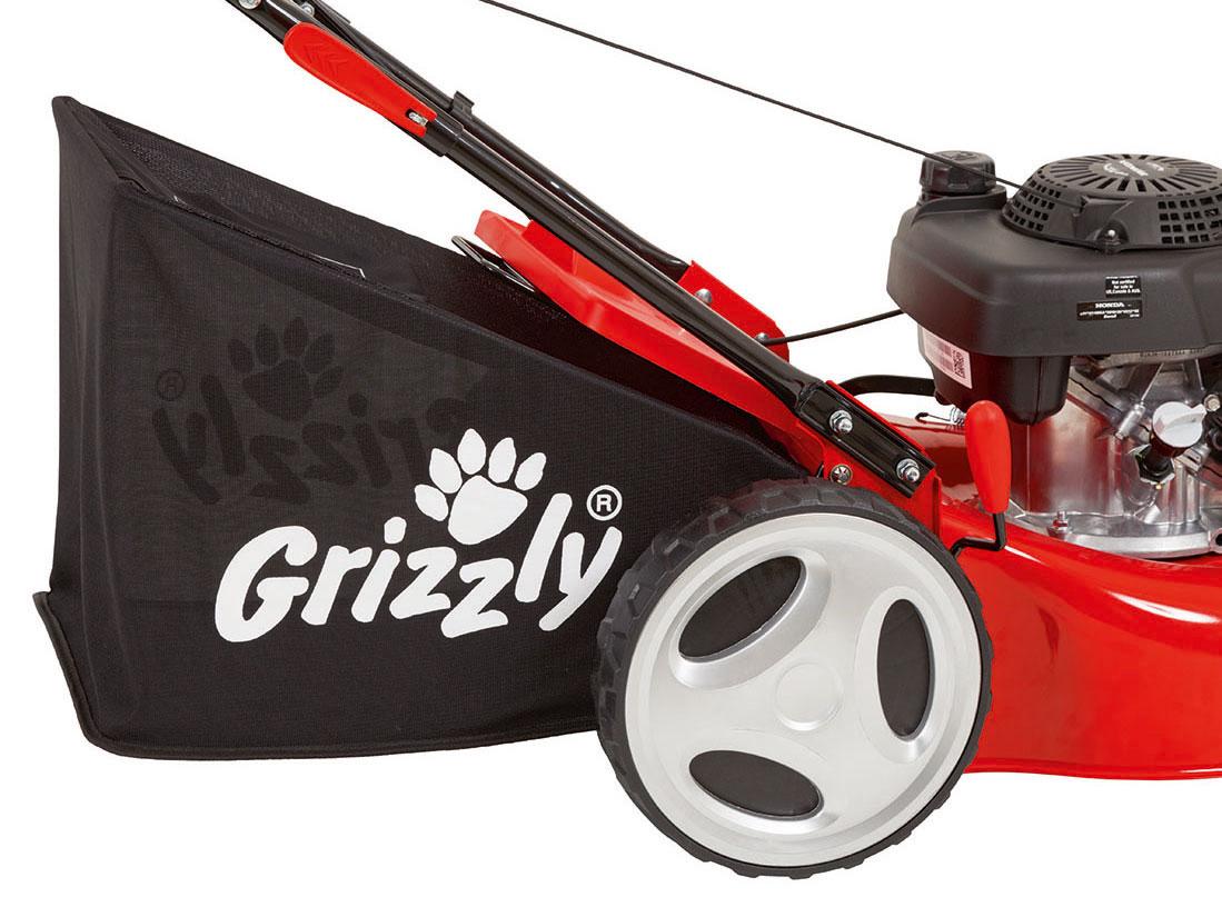 Benzin Rasenmäher Grizzly BRM 46 160 H mit Honda Motor 2,8kW SB 46cm Bild 3