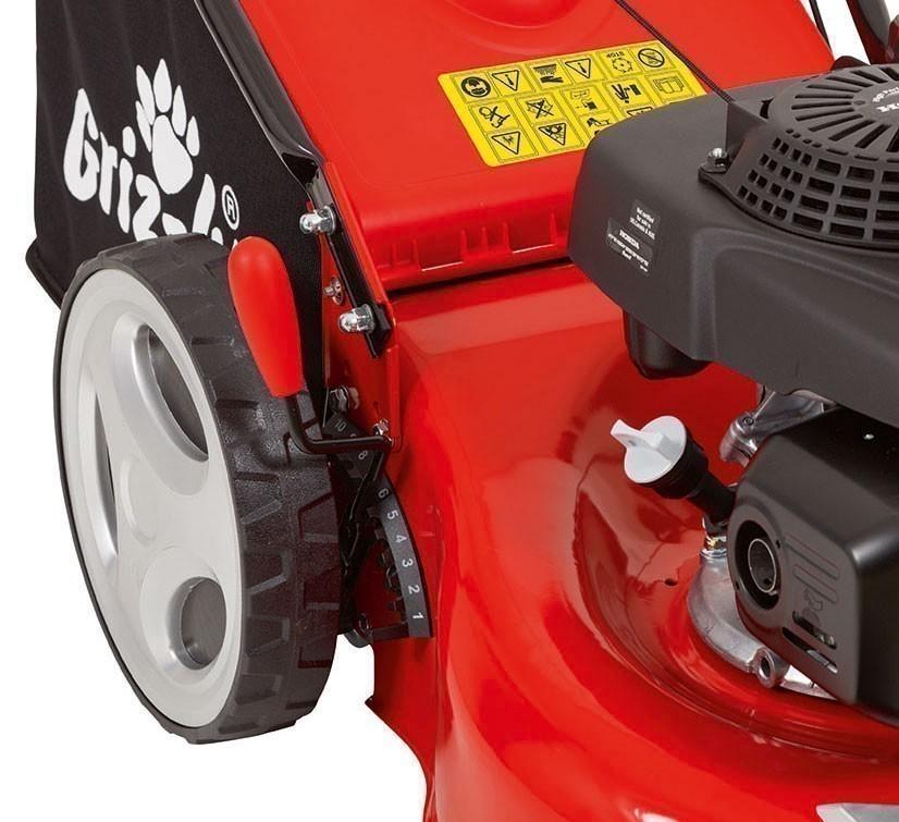 Benzin Rasenmäher Grizzly BRM 46 160 H mit Honda Motor 2,8kW SB 46cm Bild 4