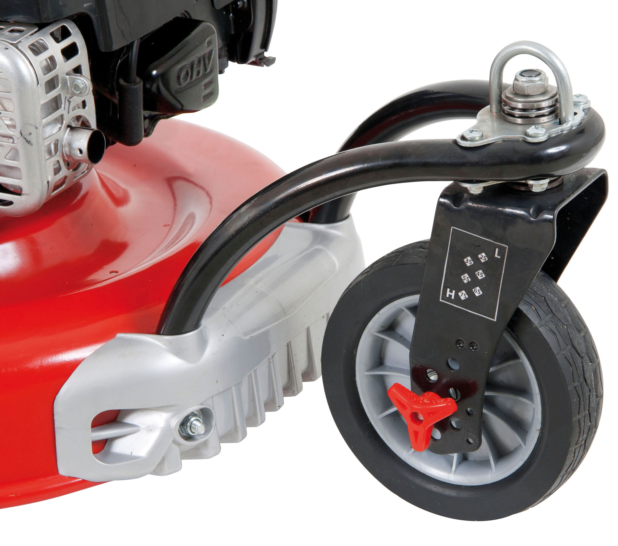 Benzin Rasenmäher Grizzly BRM 51 150 BSAT Trike B&S Motor 2,3kW 51cm Bild 2