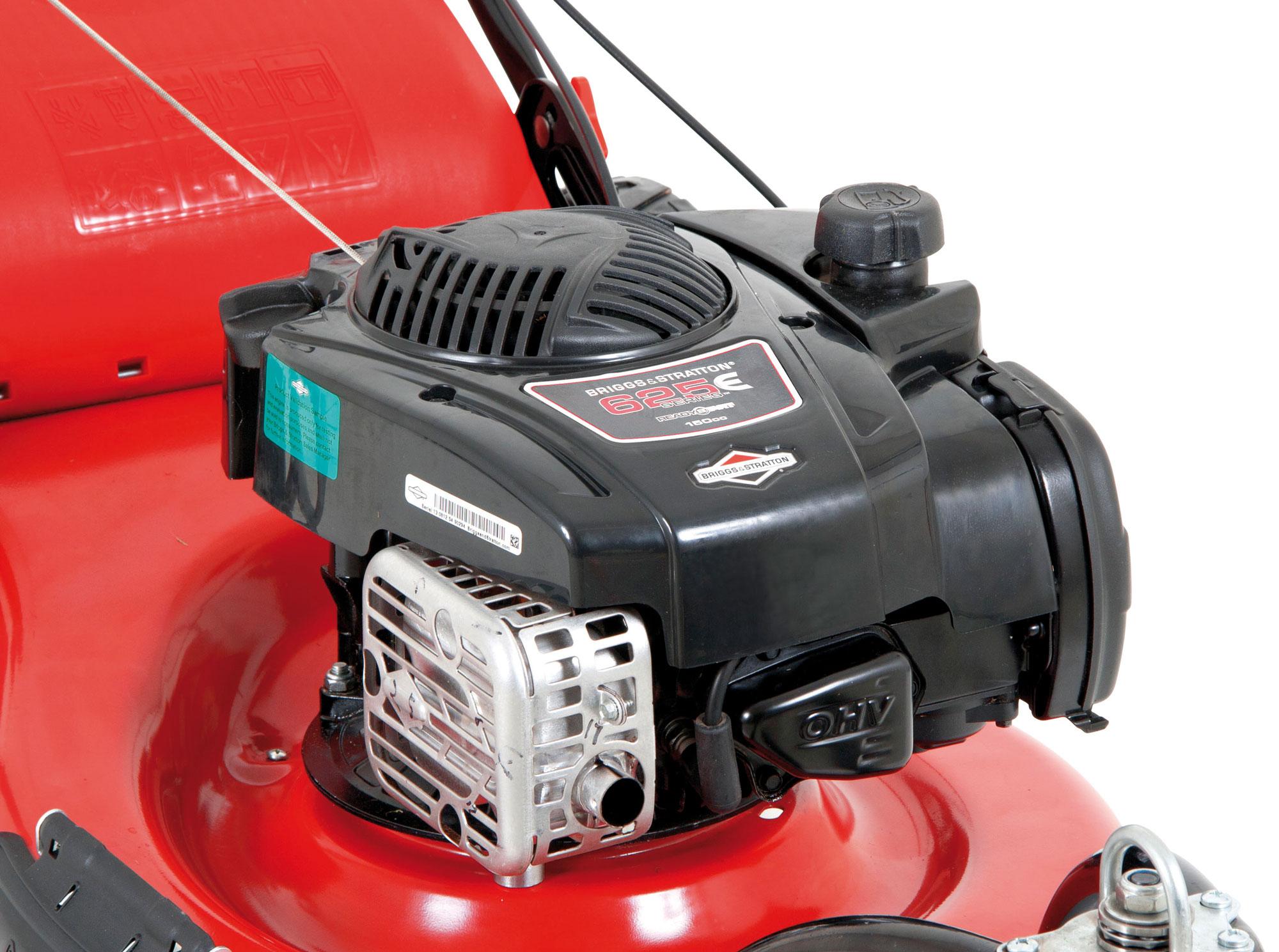 Benzin Rasenmäher Grizzly BRM 51 150 BSAT Trike B&S Motor 2,3kW 51cm Bild 3