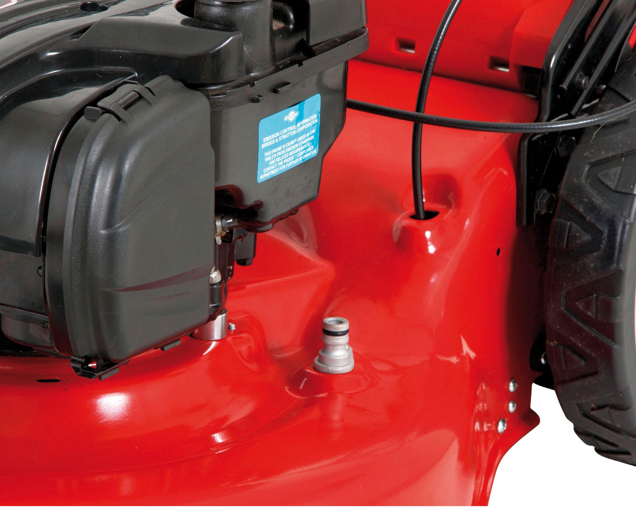 Benzin Rasenmäher Grizzly BRM 51 150 BSAT Trike B&S Motor 2,3kW 51cm Bild 4