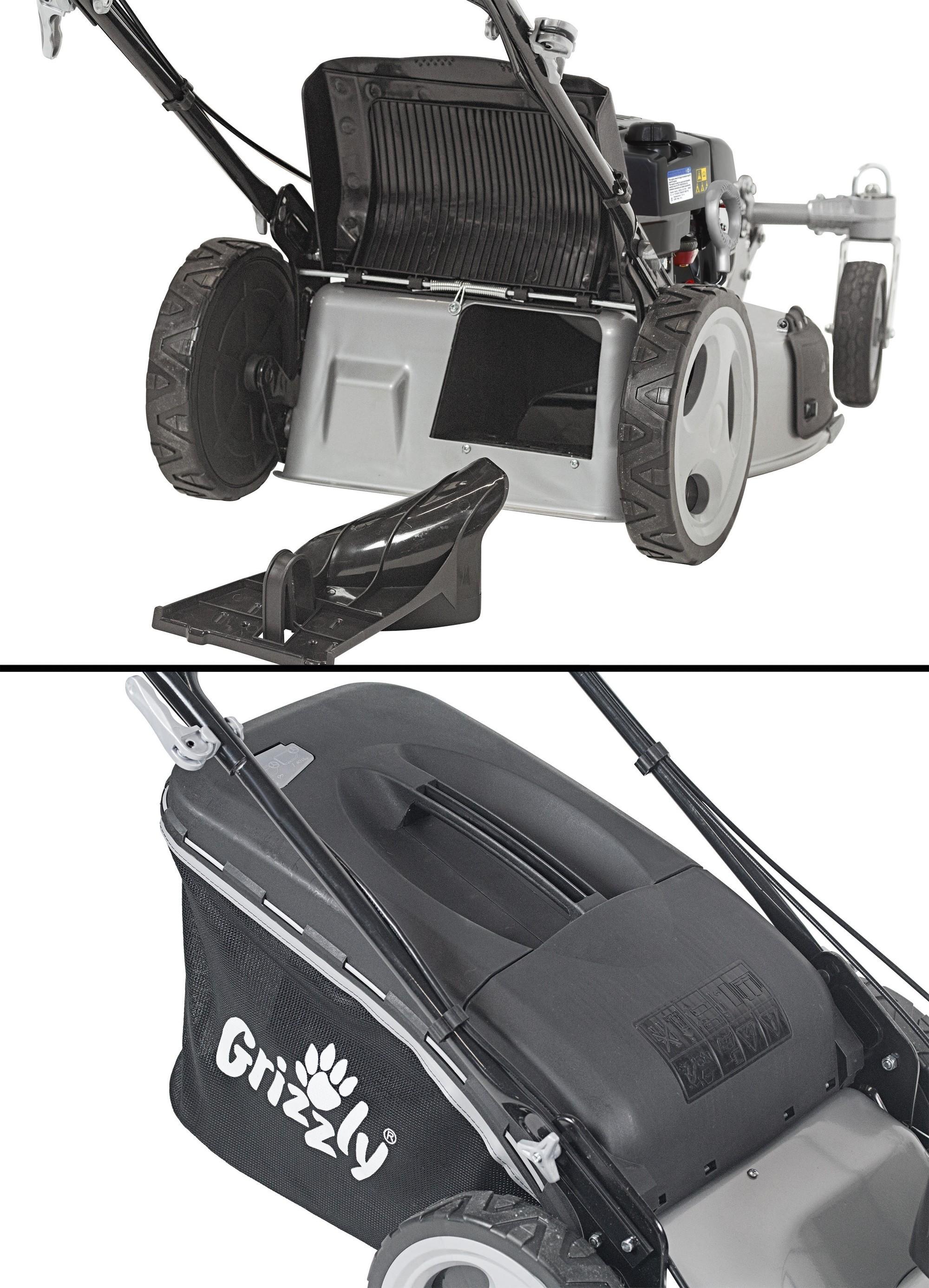 Benzin Rasenmäher Grizzly BRM 56 161 BSA Q 360° B&S Motor 2,61kW 56cm Bild 4