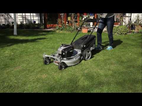 Benzin Rasenmäher Grizzly BRM 56 161 BSA Q 360° B&S Motor 2,61kW 56cm Video Screenshot 1679