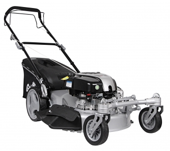 Benzin Rasenmäher Grizzly BRM 56 161 BSA Q 360° B&S Motor 2,61kW 56cm Bild 1
