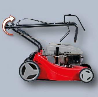 Einhell Benzin-Rasenmäher GC-PM 40 S-P Schnittbreite 40cm Bild 2