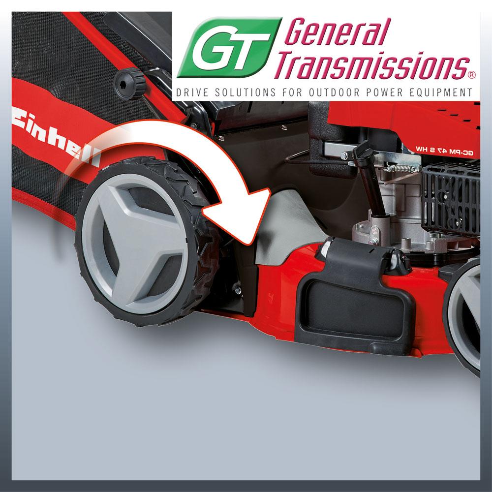 Einhell Benzin Rasenmäher GC-PM 52 S HW Schnittbreite 52cm Bild 3