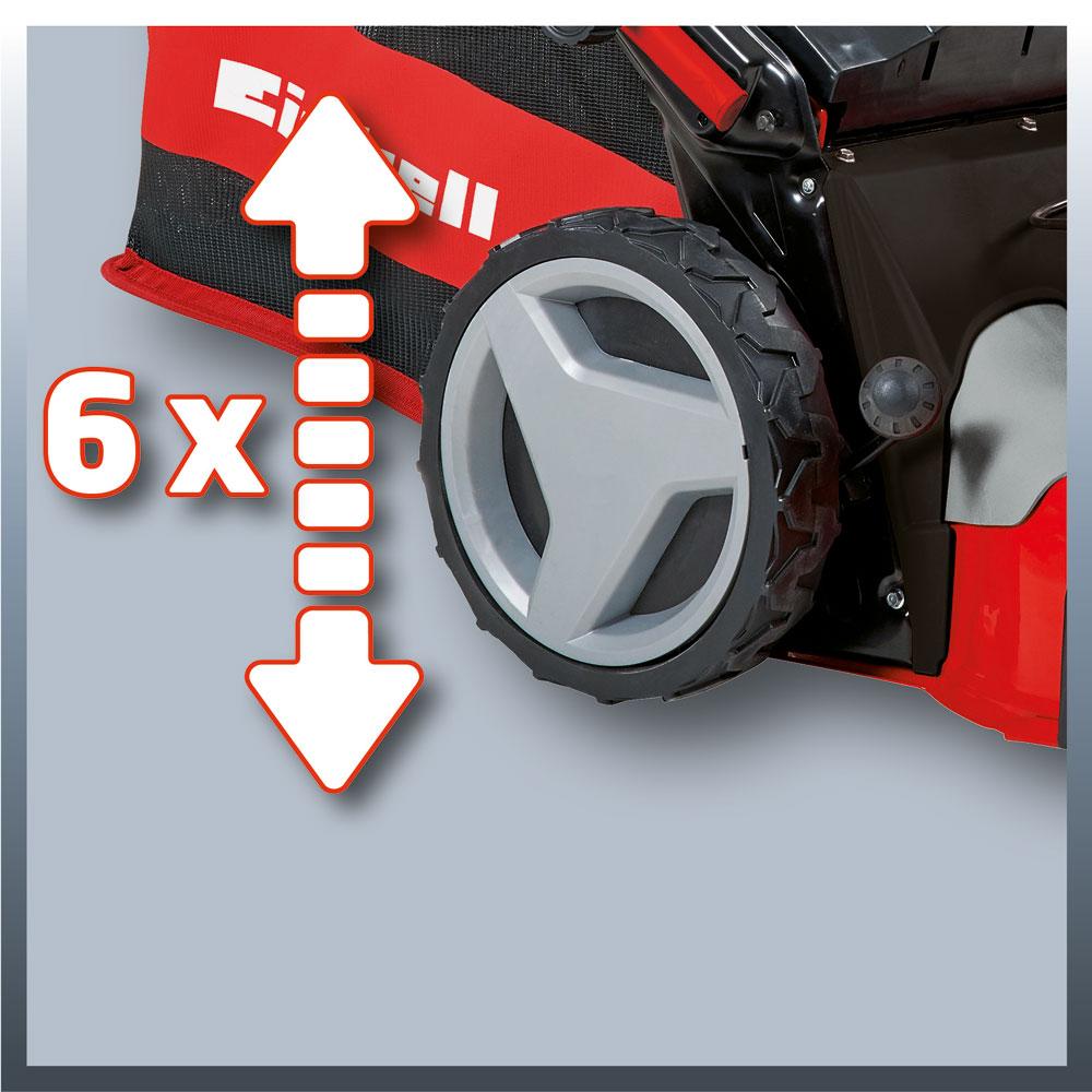 Einhell Benzin Rasenmäher GC-PM 56 S HW Schnittbreite 56cm Bild 2