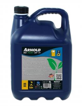 4-Takt Sonderkraftstoff Arnold für Rasenmäher 5 Liter Bild 1