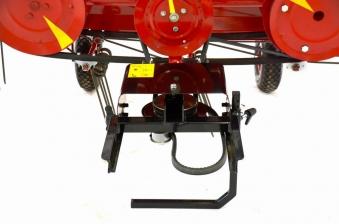 Anbau Heuwender ROP-115 für Motoreinachser Raptor Bild 3