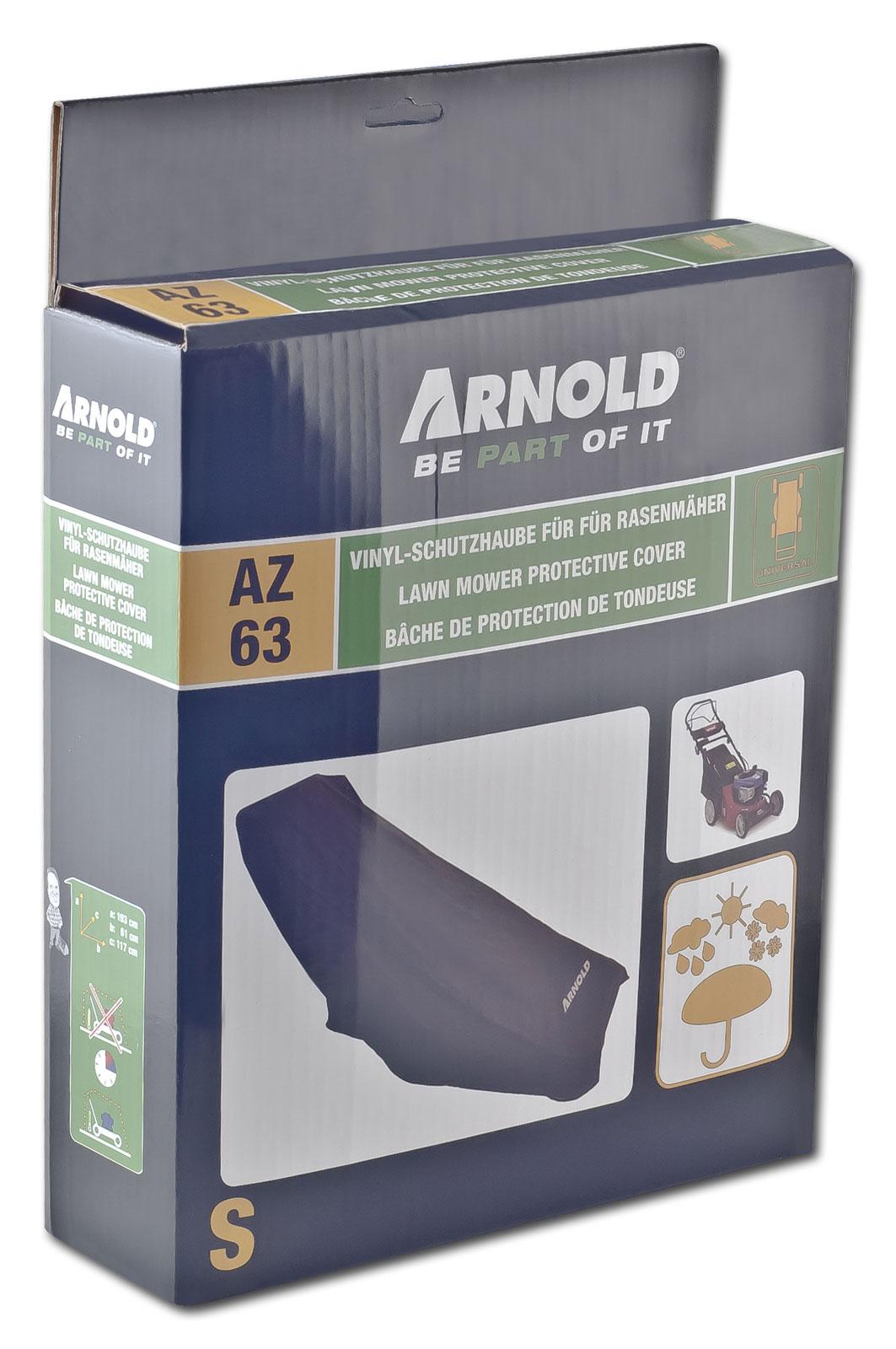 Arnold Abdeckplane / Schutzhülle für Rasenmäher Elektro / Benzin Bild 1