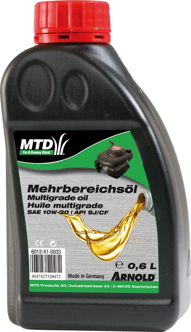 Arnold Motorenöl / Mehrbereichsöl 4-Takt SAE 10 W-30 600 ml Bild 1
