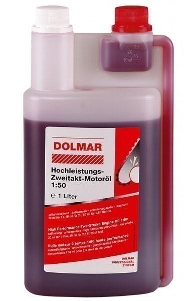Dolmar Hochleistungs Öl / 2-Takt-Motoröl 1 Liter Dosierflasche Bild 1