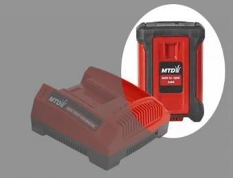 MTD Batterie / 40V Li-Ion Akku System 40V 4,0Ah Bild 1