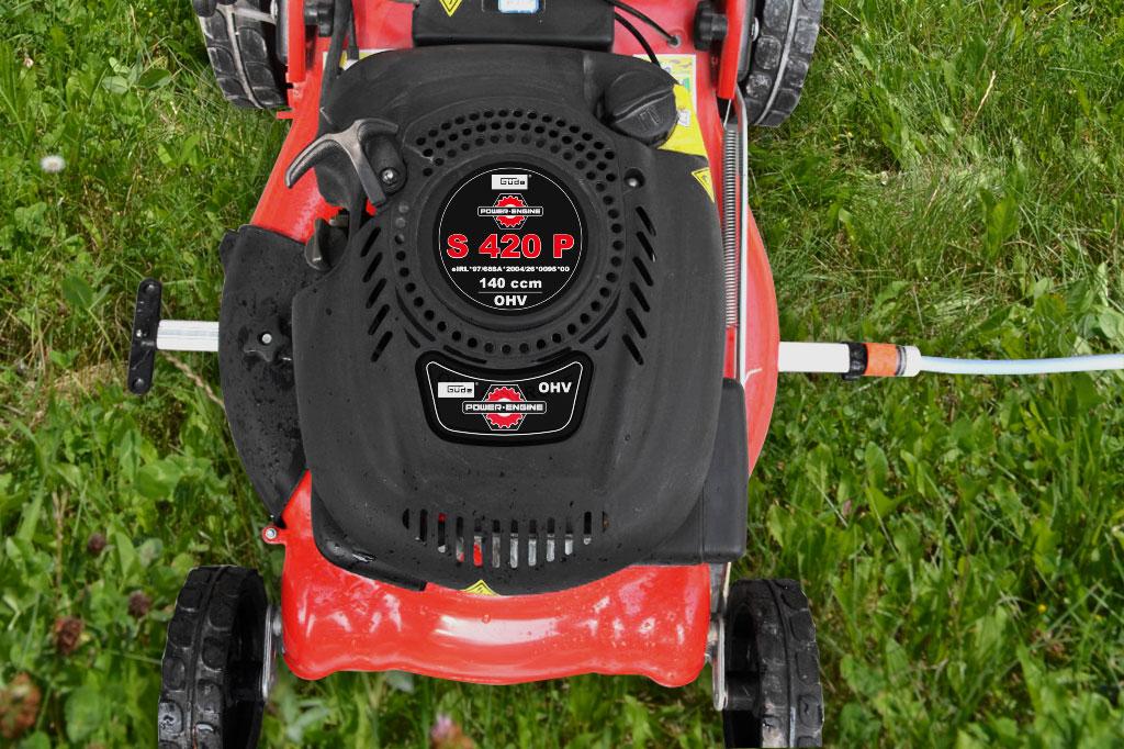 Reinigungsleiste RM 785 Güde Schnittbreite 35-58cm für Rasenmäher Bild 4