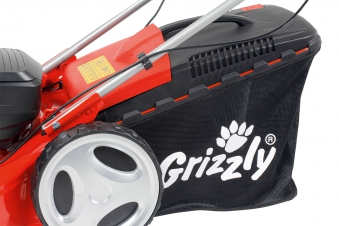 Akku Rasenmäher Grizzly ARM 46 T-Lion Set Trike 40 V Akku SB 46cm Bild 8
