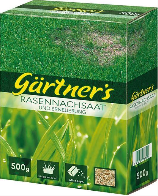 Rasennachs. u. Erneuerung500 g, FS Gärtners Bild 1