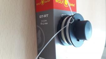 Ersatz Fadenspule Kassette GT-RT / Ersatzteil Rasentrimmer Wolf Garten Bild 1