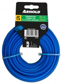 Trimmerfaden Arnold Copolymer AF1.9 4-Kant Ø 3,0 mm Länge 15 m Bild 1